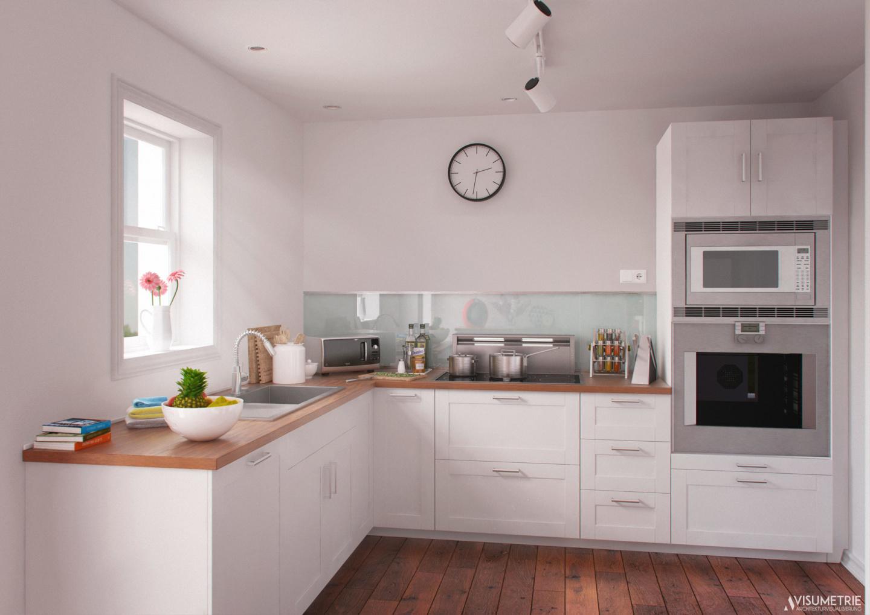 Küche AR | Visumetrie Architekturvisualisierung