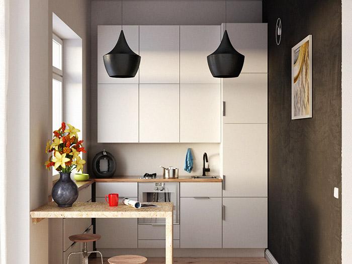 Küche K1 | Visumetrie Architekturvisualisierung