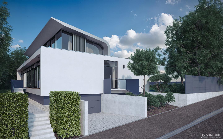 Wohn- und Geschäftshaus | Visumetrie Architekturvisualisierung