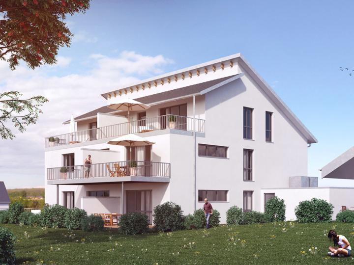 Wohnbau Muhr | Visumetrie Architekturvisualisierung