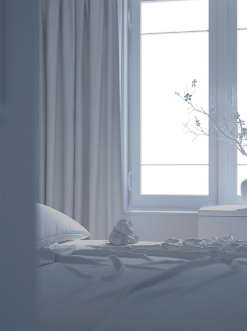 Bedroom   Visumetrie Architekturvisualisierung