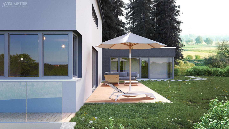 Haus A   Visumetrie Architekturvisualisierung