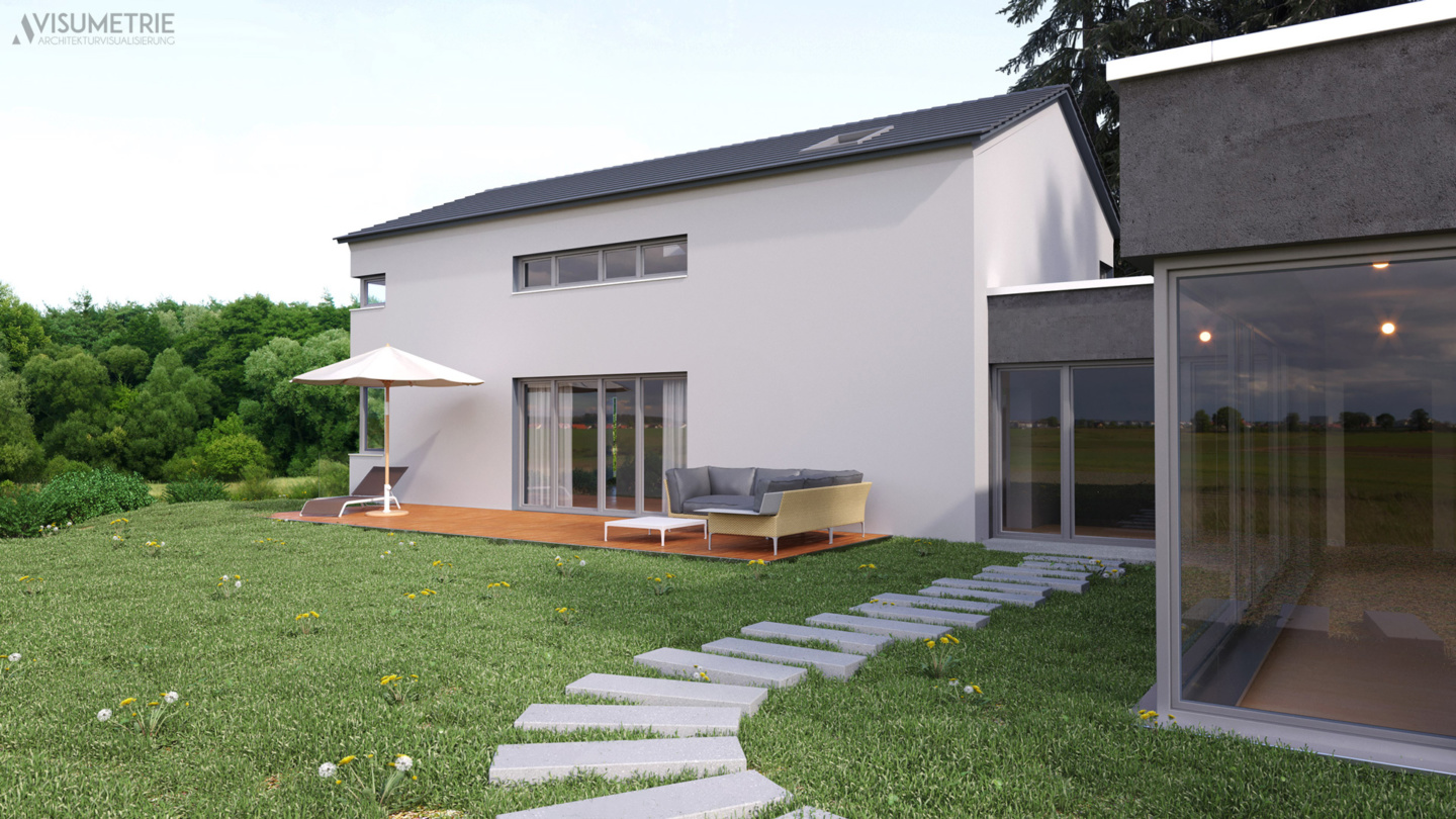 Haus A | Visumetrie Architekturvisualisierung