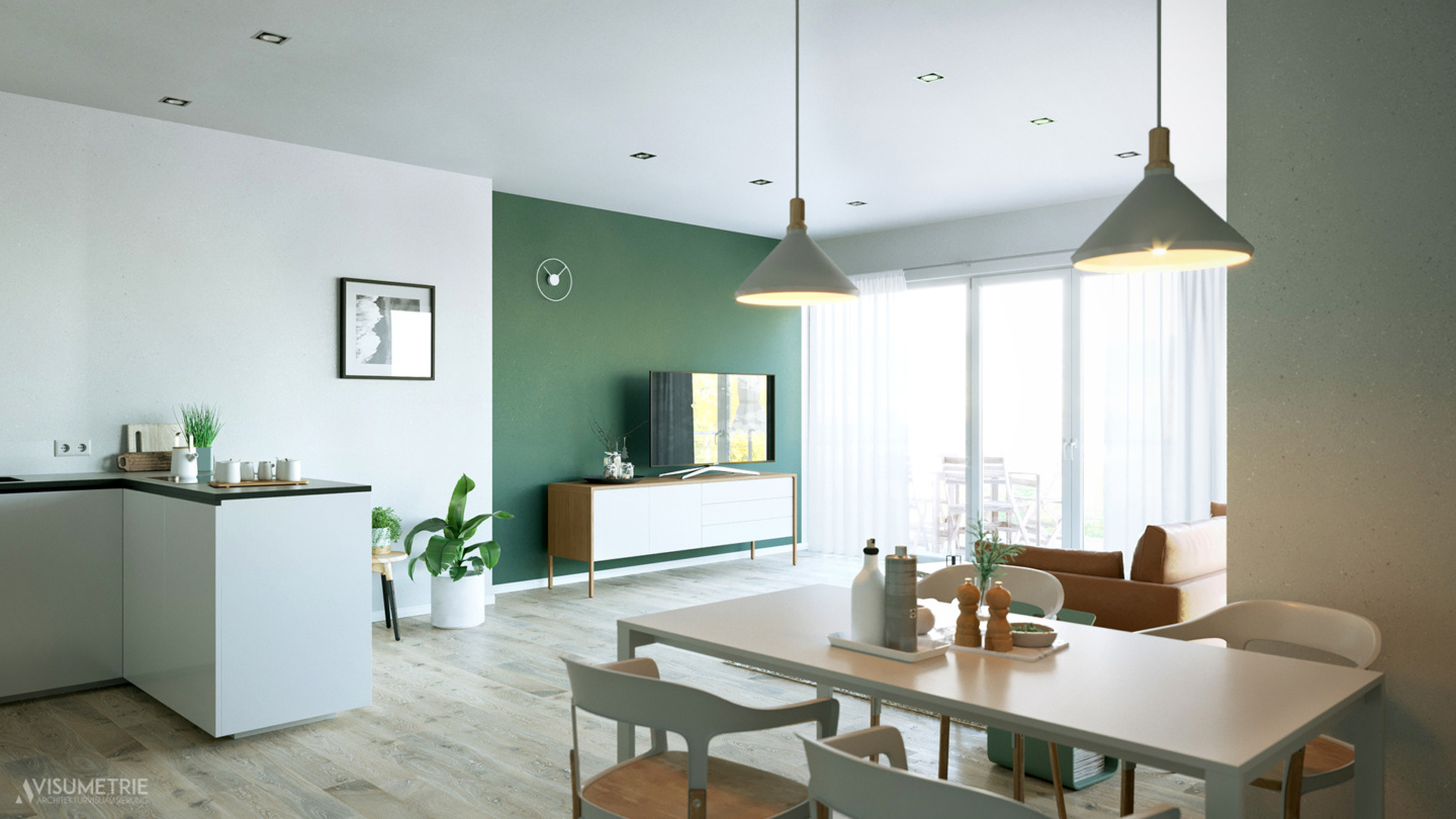 Apartment 360 | Visumetrie Architekturvisualisierung