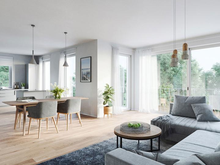 Wohnpark Tutzing | Visumetrie Architekturvisualisierung